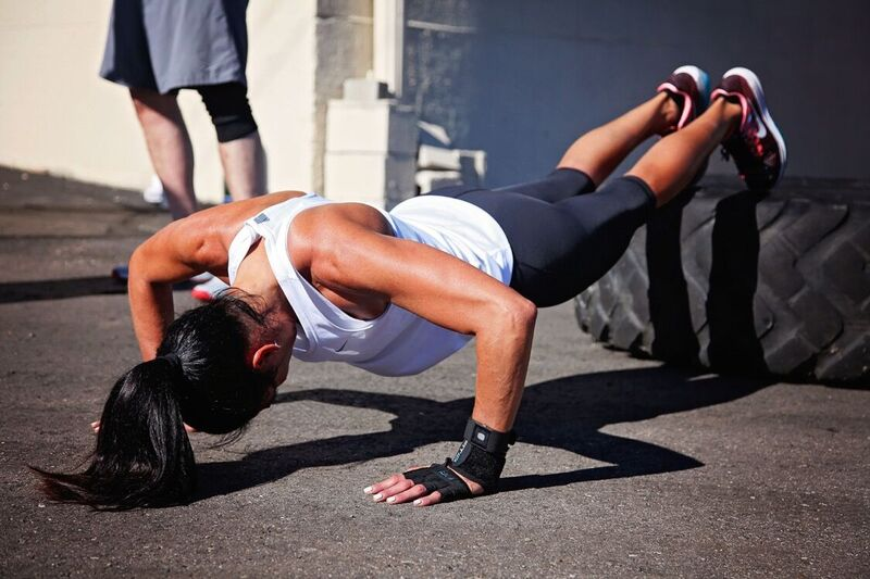 Decline pushups - Outdoor Boot Camp