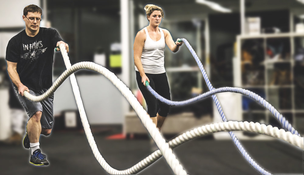 Battle Ropes - Kettle Rope X