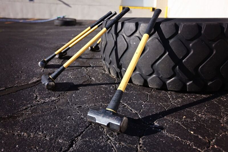 Sledgehammers & Giant tires