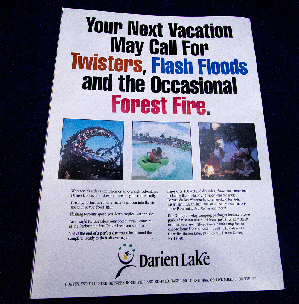 Darien Lake Travel Guide ad
