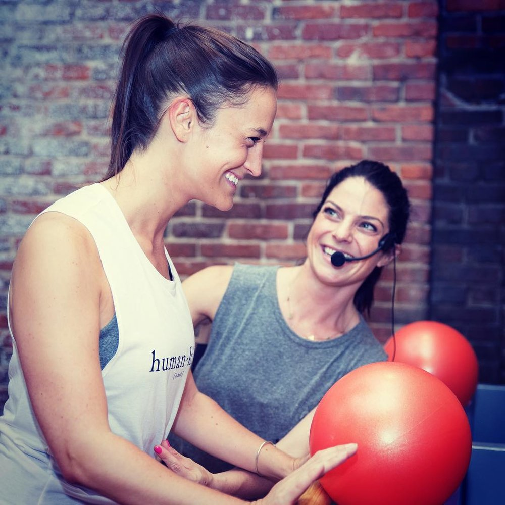 Longtime South Ender, Jamie Golden (pictured), opened Barre3 studio on Washington Street in 2017.
