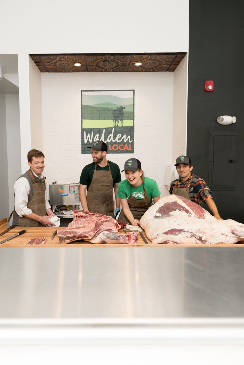 Walden Local Meats opened in late 2017 and offers a changing variety of specialty cuts, in-house sausage blends and marinated products.