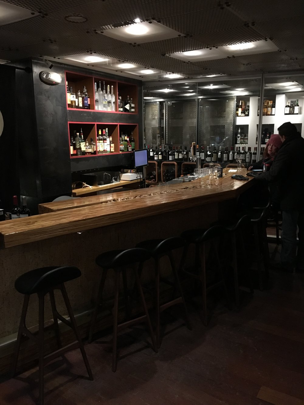 Seiyo's new bar space, added in 2017