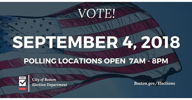 ‪Attention neighbors: polling locations are open for today's state primary! There are several different locations for SE/Lower Rox residents depending on your address - you can visit bit.ly/SouthEndVote to confirm your specific location.‬