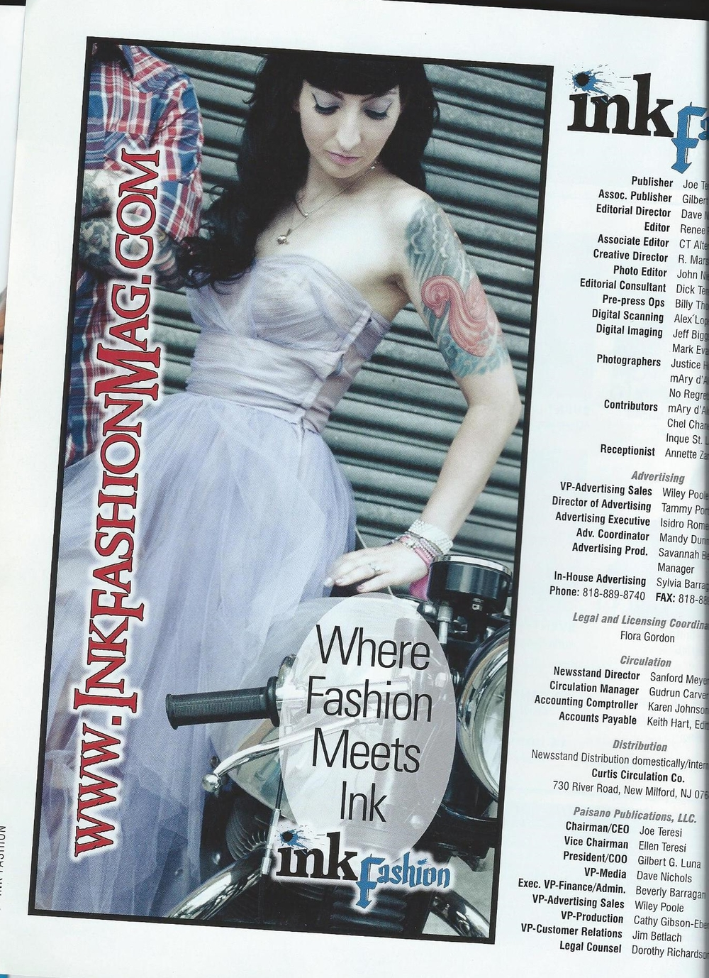 Ink Fashion Magazine 02/2013