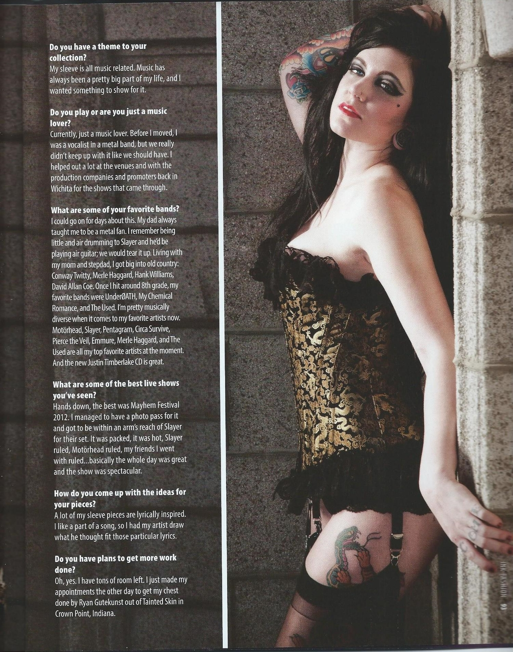Ink Fashion Magazine 07-2012