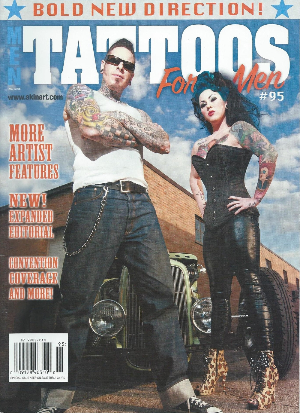 Tattoos For Men Magazine