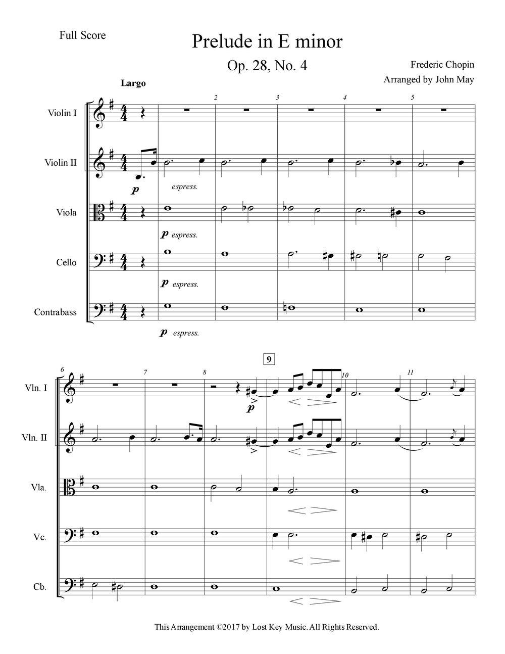 Chopin Prelude in E minor-String Orchestra-Score Sample.jpg