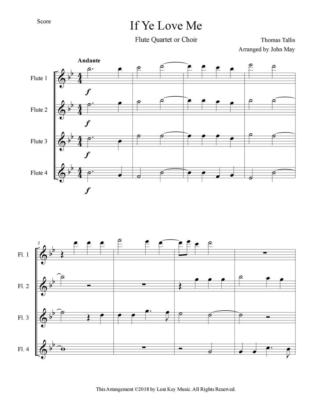 If Ye Love Me-Flute Quartet.jpg