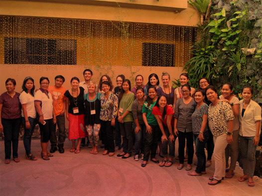 Manila Training attendees