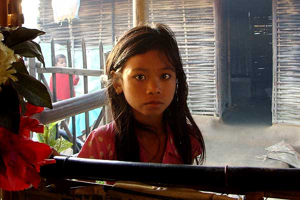 Bhutanese refugee child