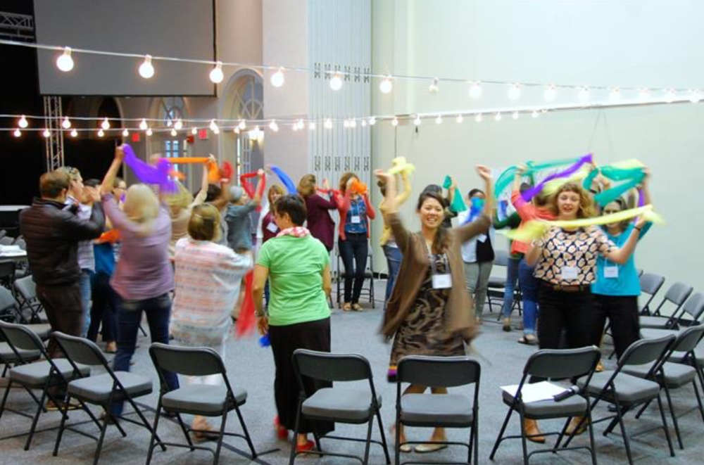 Healing Arts Toolkit Training - group movement activity