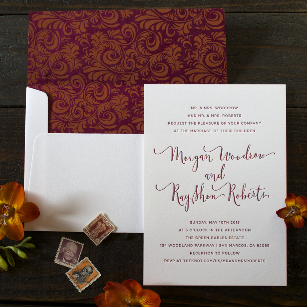 invitations & announcements — paperweight