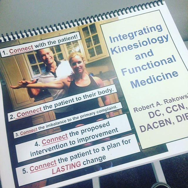 First Applied Kinesiology course with Dr. Rakowski! Learn more to help more people! #pain #painfree #health #wellness
