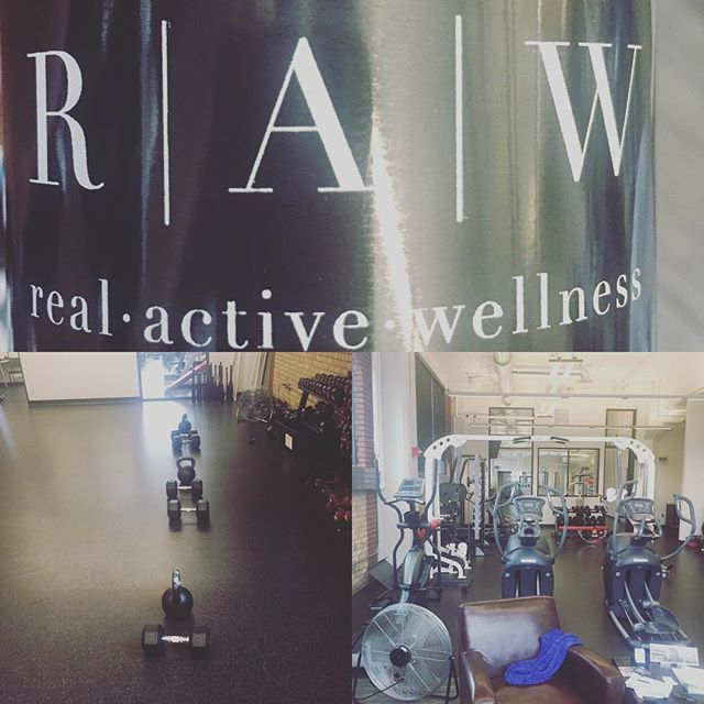 Got to train at RAW today! Owned by one of the best heath practitioners that I know Todd Stebbleton. Awesome facility. Awesome staff #health #fitness #nutrition #trainsmart