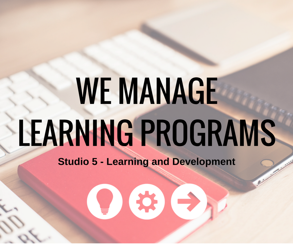 WE Manage LEARNING Programs As a thought partner, there is no job too big or small. From finding the right venue to tracking employee success, we operate as an extension of your team.  Read more