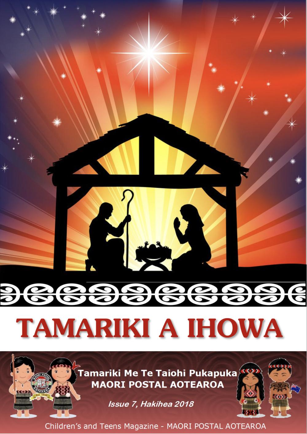 Tamariki A Ihowa Issue Issue 7 Dec 2019