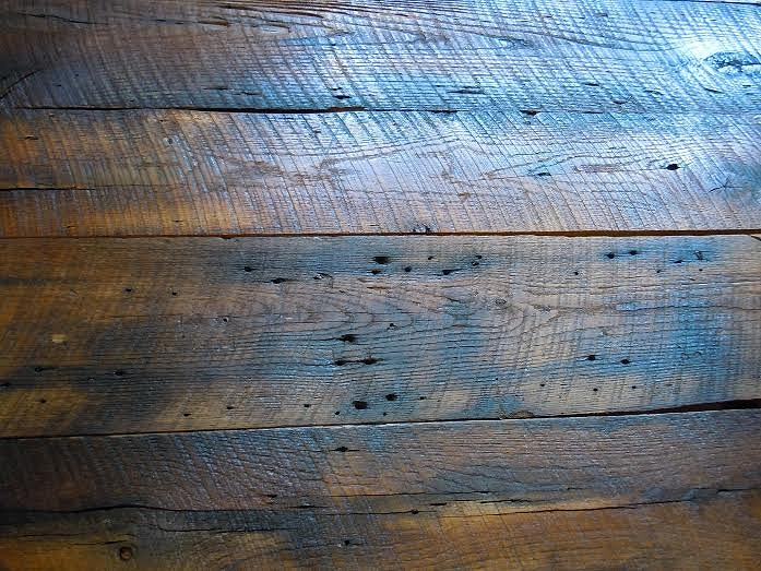 Antique chestnut barn boards