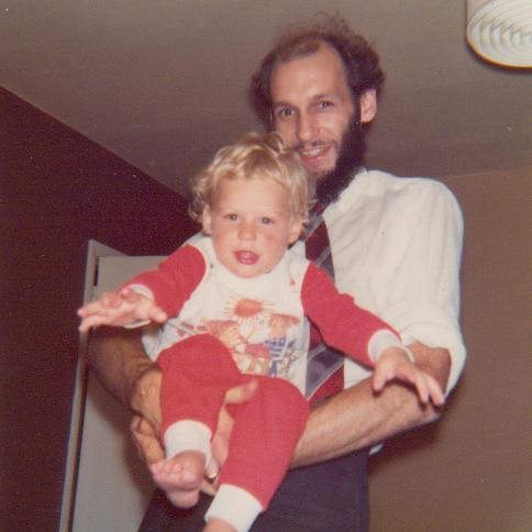 Sadie and her dad, Arthur Waddington