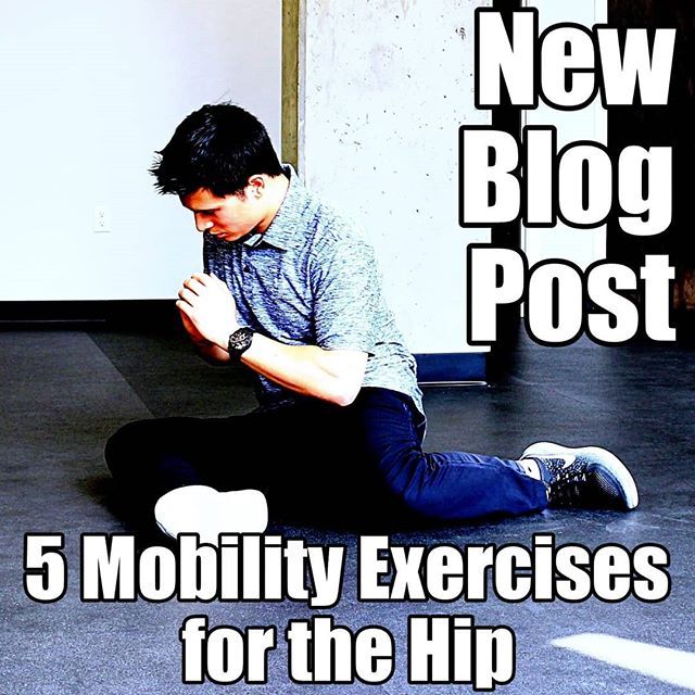 New blog post is live! Link is in the bio! . In this episode, we discuss anatomy of the hip joint and 5 mobility exercises to help decrease stiffness in the hip! . What's your favorite hip stretch? . #hips #mobility #stretch #stretching #flexibility #glutes #fit #fitfam #fitspo #fitness #instafit #gym #workout #exercise #rehab #lowbackpain #quads #movement #health #sportsmedicine #chiropractic #chiropractor #seattle