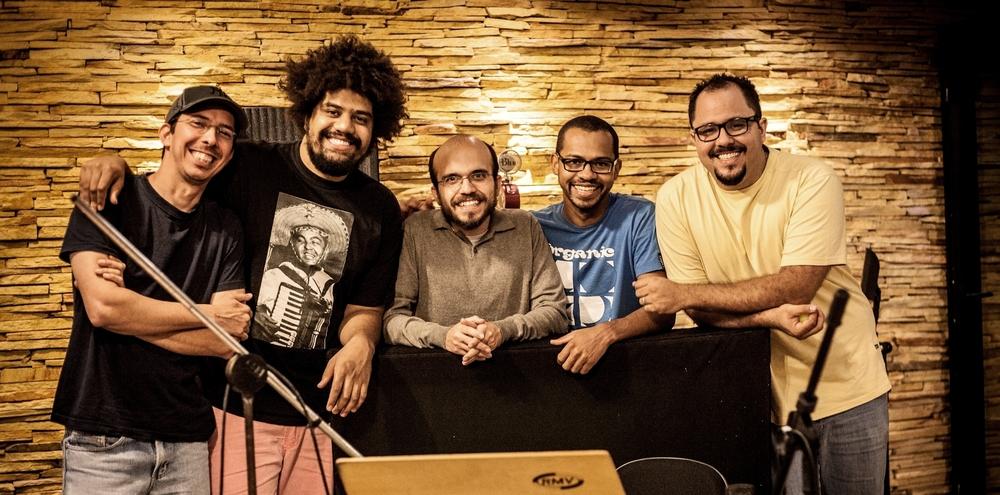 Com Hamilton Pinheiro, Rafael dos Anjos, Junior Ferreira e Valério Xavier