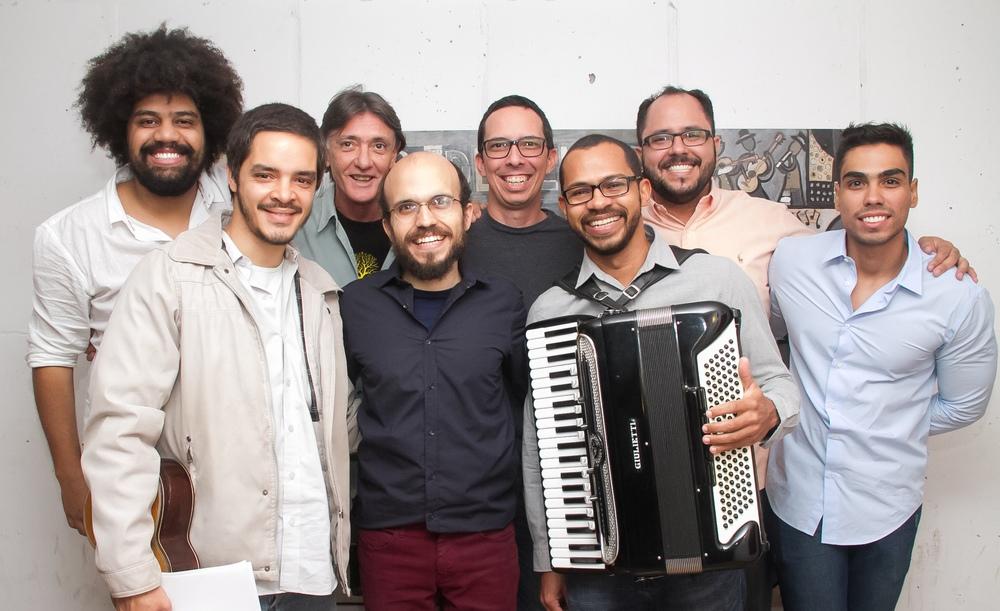 Com Rafael dos Anjos, Pedro Vasconcellos, Afonso Gadelha, Hamilton Pinheiro, Valério Xavier e Thiago Viegas