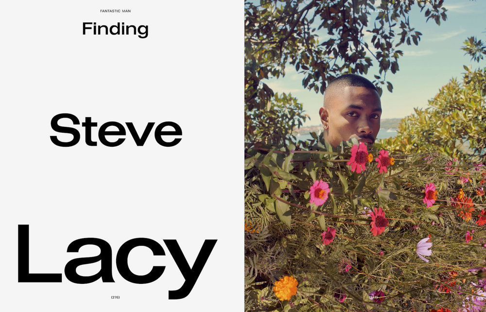 FINDING STEVE LACY  FANTASTIC MAN #27