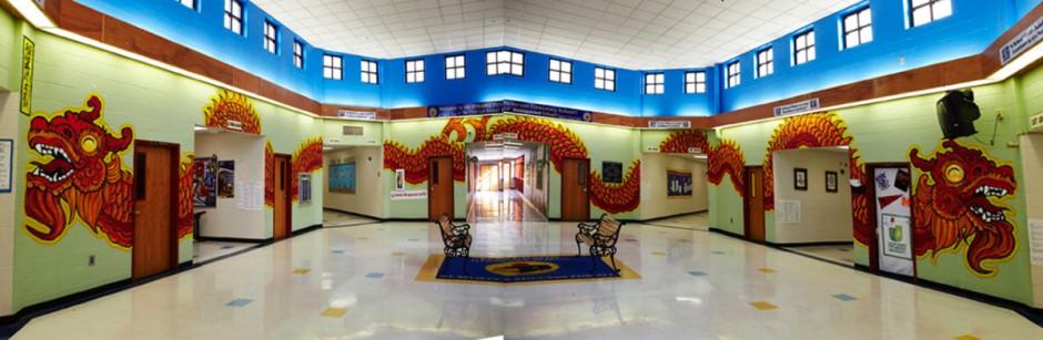 Perkenson Elementary Mural
