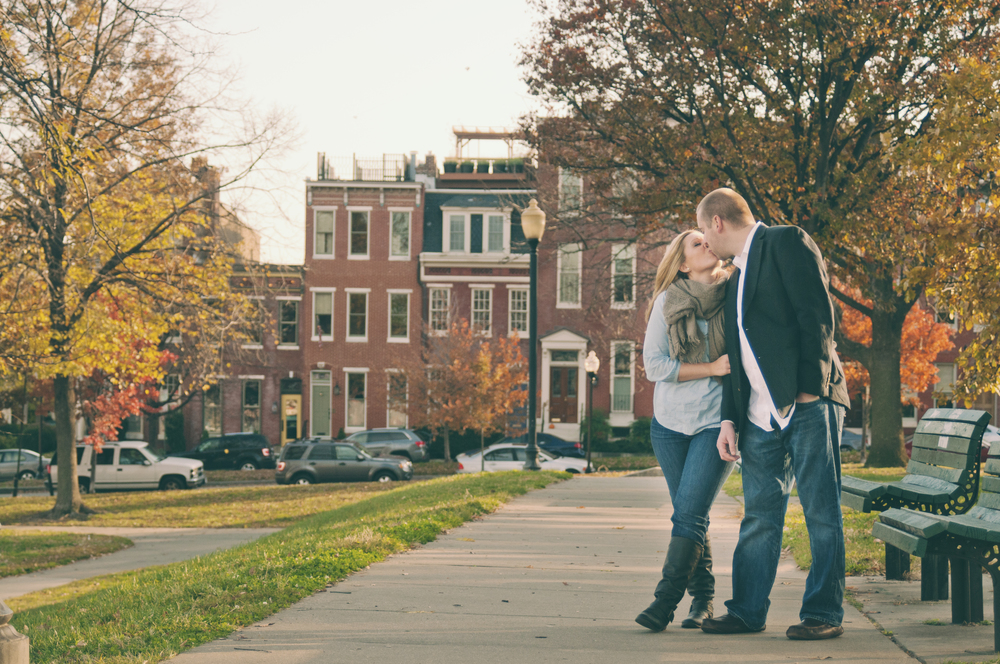 Baltimore Engagement Photography - Federal Hill