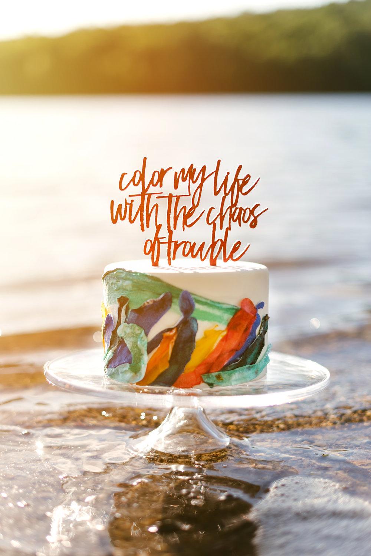 Styled Shoot - Wedding Cake - Maryland Photographer