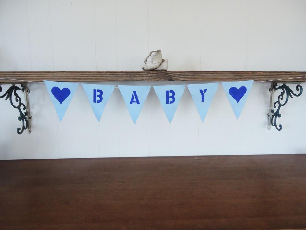 Blue Baby Felt Banner (3).JPG