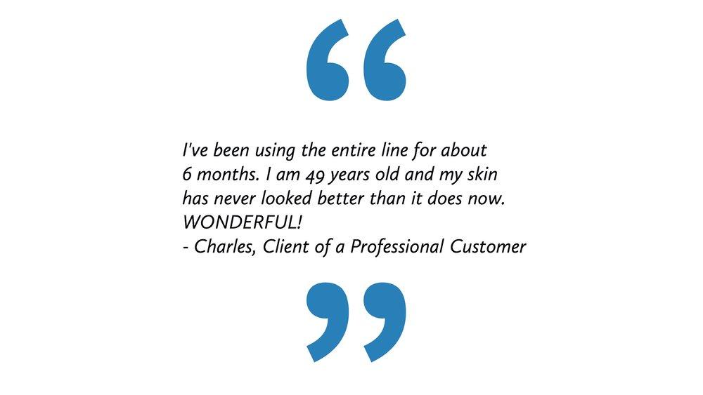 Charles Testimonial