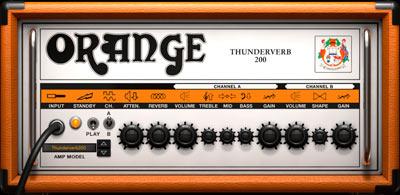 AmpliTube Orange Thunderverb 200
