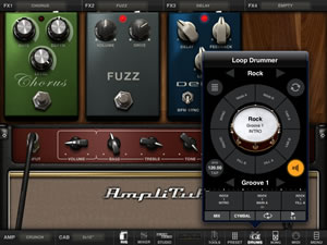 Ampliube For iPad drums
