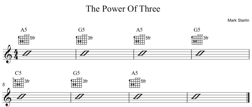 Power Chords Mark Starlin