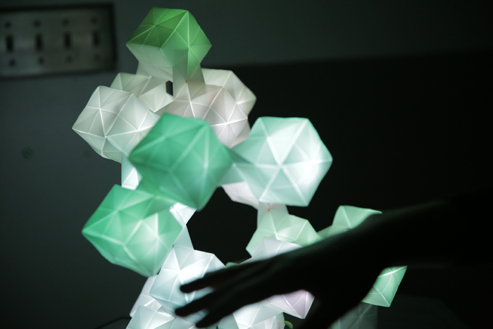 """Photon Molecule"" - Robert Moses Lim + Dat Phan, 2014"