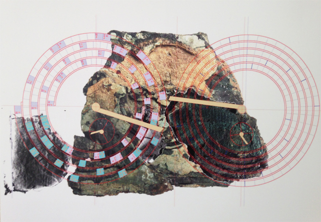 """Antikythera Mechanism - Visualization"" - Alex Cruse, 2014"