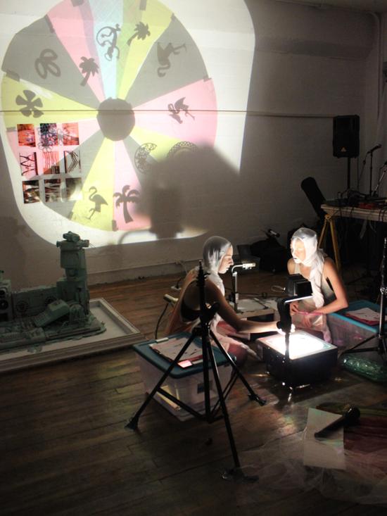 """""""Specter vs. Specter"""" - Camilla Puccini and Leah Malinowski"""