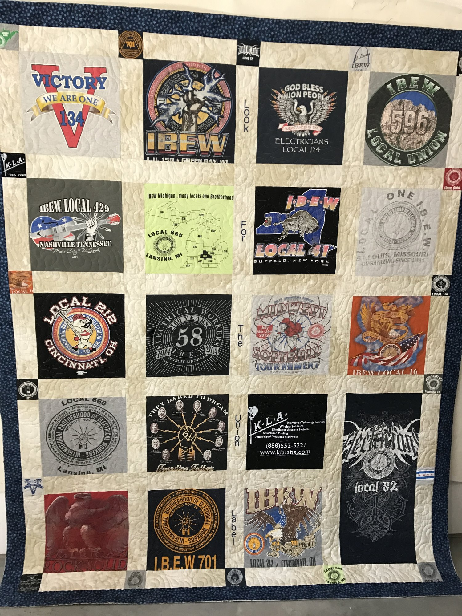 Popular T Shirt Quilts Professional Longarm Quilting Service