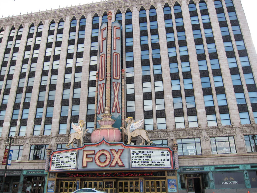 Passed by Fox Theater