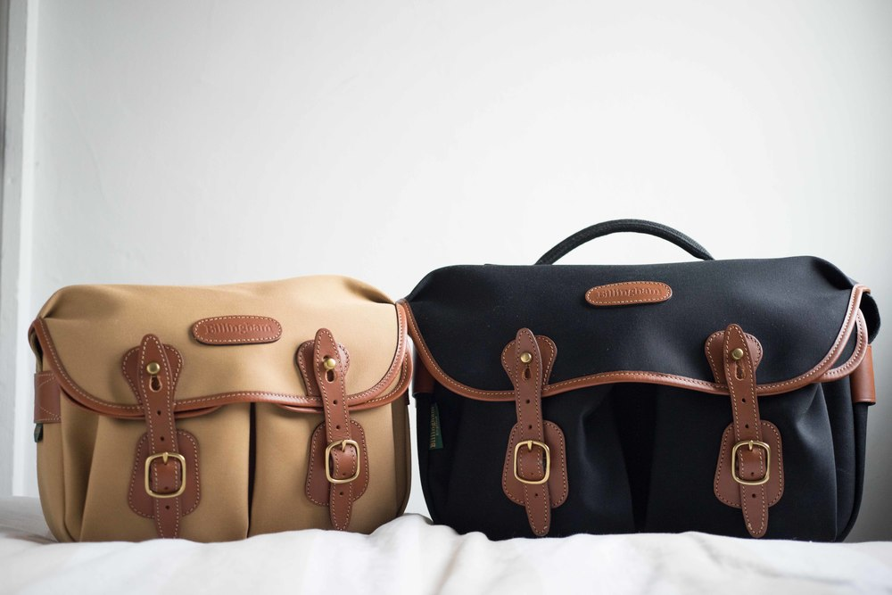 The Billingham Hadley Small (Left) and the Hadley Pro (right)