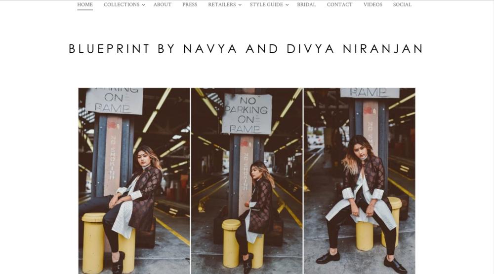 BLUEPRINT by Navya & Divya Niranjan