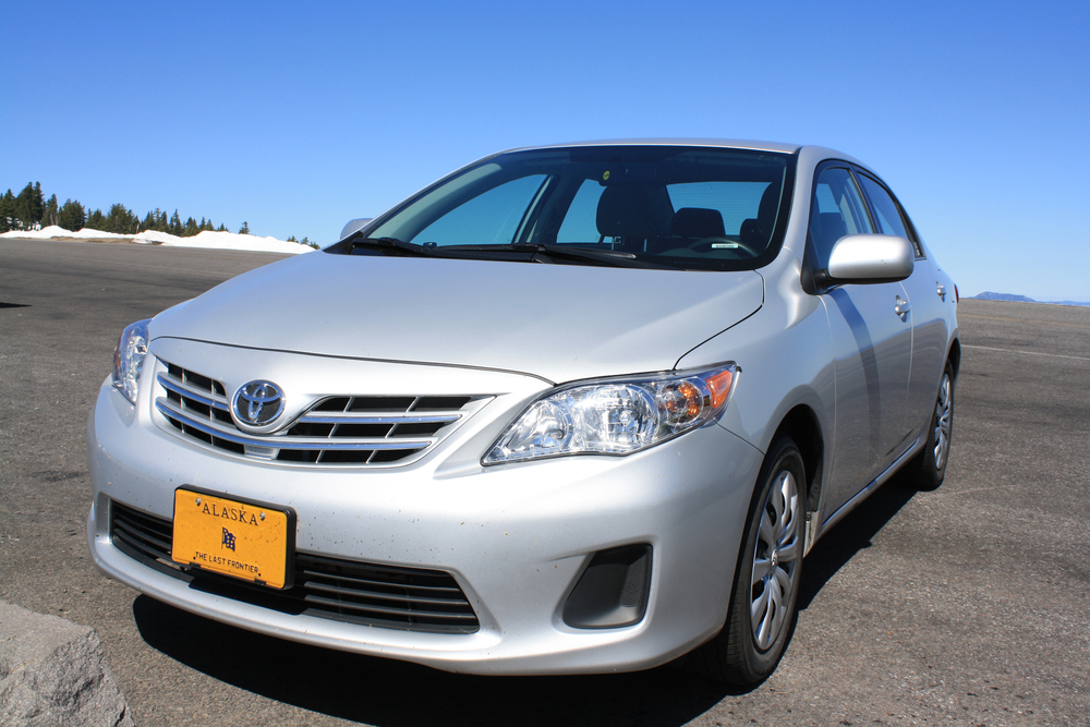 This Toyota would be our trusty steed throughout the Oregon trip. We would end up clocking just over 700 miles on it.