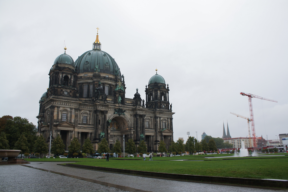 The Berliner Dom cathedral.