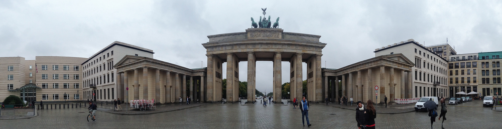 You must take a Bradenburg Gate panorama. It's pretty much required.