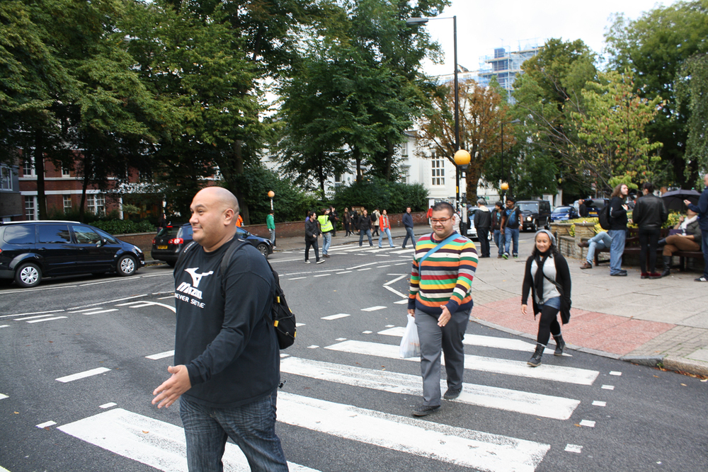 Who needs a photo of the Abbey Road crosswalk when you can get the Grove End Road crosswalk!?
