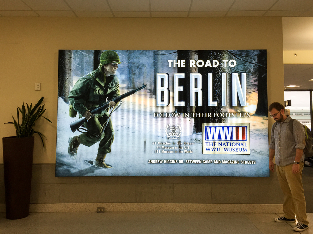 We didn't actually get to visit the famed WWII Museum due to overcrowding but it just leaves us more reason to go back!
