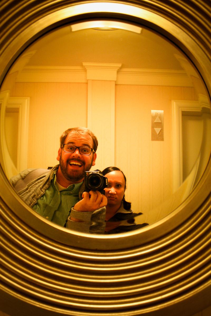 Mirror photo #2.