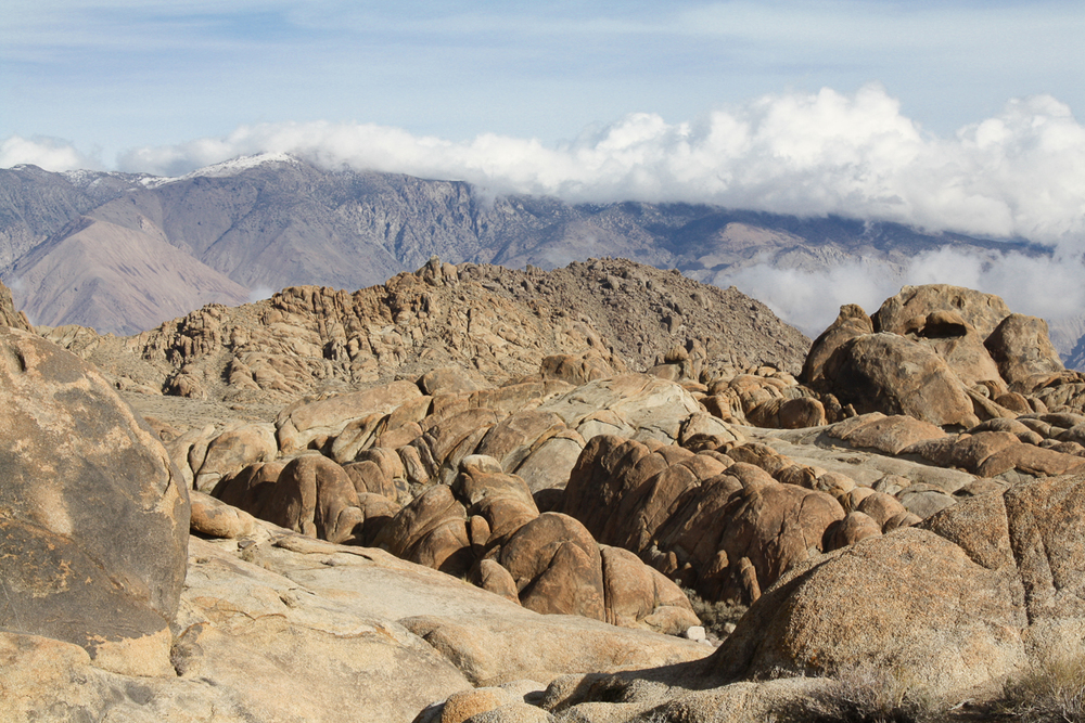 More of the Alabama Hills with the Inyos in the background.