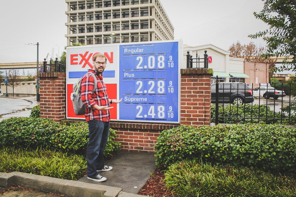 I wish gas cost this much at home!